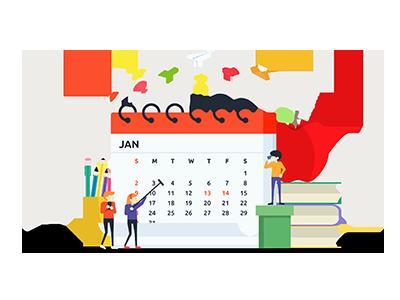 Calendario icono mamare